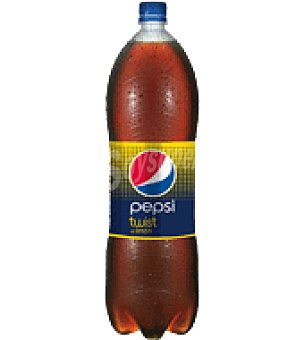 Pepsi Bebida refrescante de cola con un toque de limón Botella de 2 l