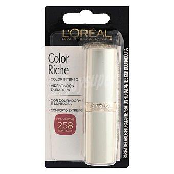 Color Riche Barra de labios nº258 berry blush l'oréal 1 ud 1 ud