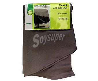 PRODUCTO ECONÓMICO ALCAMPO Mantel 100% poliéster, color marrón pardo liso, 140x180 centímetros 1 Unidad