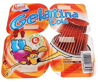 Kalise Gelatina cola PACK-4 100GRS
