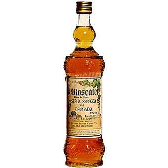 TEULADA Vino blanco dulce de licor mistela selecta de moscatel D.O. Alicante botella 75 cl Botella 75 cl
