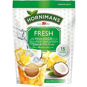 Hornimans Té Verde de Piña y Coco en bolsitas 15 ud