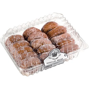 PELAYO Rosquillas de azúcar Bandeja de 320 g