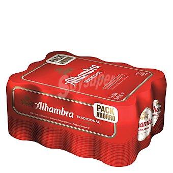 Alhambra Cerveza premium Pack de 12x330 ml