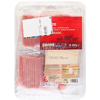 Eroski Basic Lote de sandwich Bandeja 900 g