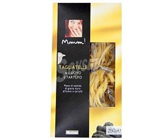 Mmm Auchan Tagliatelle al Tartufo, pasta de sémola de trigo duro al huevo con trufa 250 Gramos