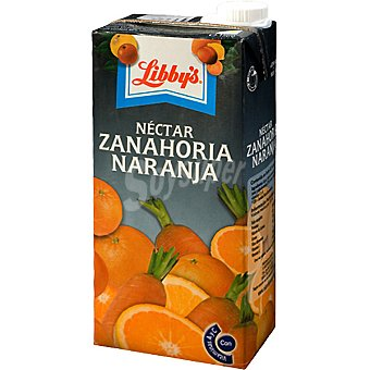 Libby's Néctar de zanahoria y naranja Envase 1 l