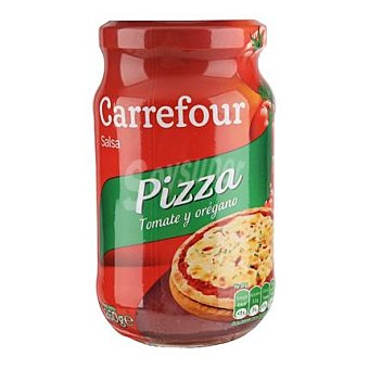 Carrefour Salsa para pizza al orégano Carrefour Tarro 260 g