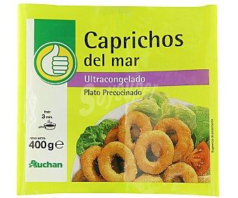 Productos Económicos Alcampo Caprichos de calamar 400 gramos