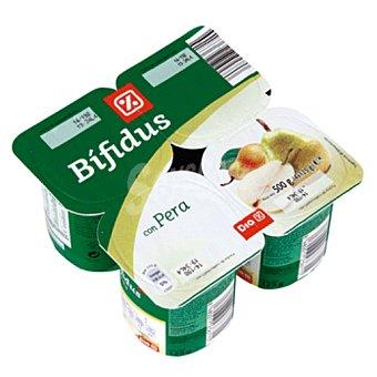 DIA DIA yogur bífidus con pera  pack 4 unidades 125 g