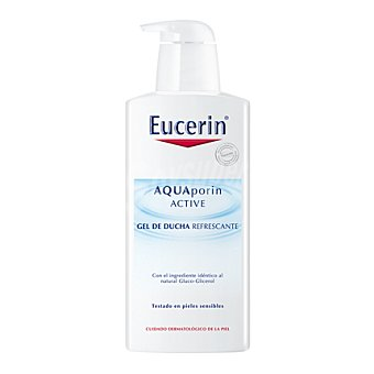 Eucerin Gel de ducha refrescante Aquaporin 400 ml