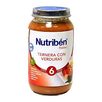 Nutribén Potito ternera con verduras 250 g