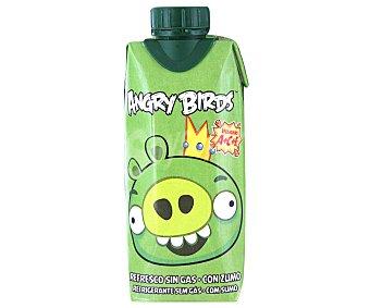 Juver Refresco Manzana y Limón King Pig Angry Birds 330 Mililitros