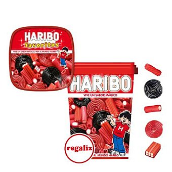 Haribo Caja Favoritos Regaliz 180 g