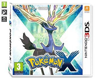 ACCIÓN-ROL Videjuego Pokemon X para Nintendo 3Ds. Género: acción, rol, combate por turnos. PEGI: +7 3Ds