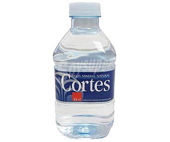 Cortes Agua mineral Botella de 33 centilitros