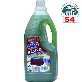 Alin detergente máquina líquido básico color botella 4,05 l 54 dosis