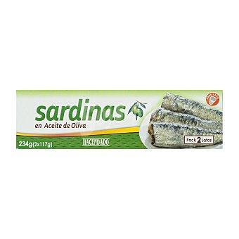 Hacendado Sardina aceite oliva U- 234 g