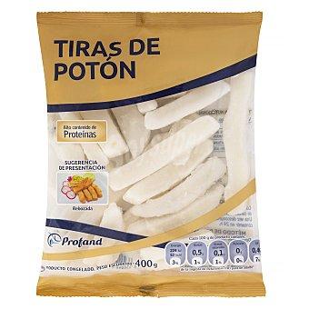 Profand Poton congelado tiras Paquete 400 g