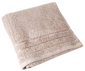 Actuel Toalla de lavabo color beige 100% algodón, /m² de densidad, 50x100cm. actuel 480 g