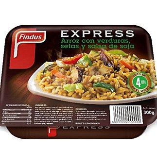 Findus Arroz con verduras y setas 300 g