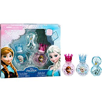 Disney Frozen Eau de toilette infantil + gel de baño  pack 2 spray 30 ml + gel envase 80 ml