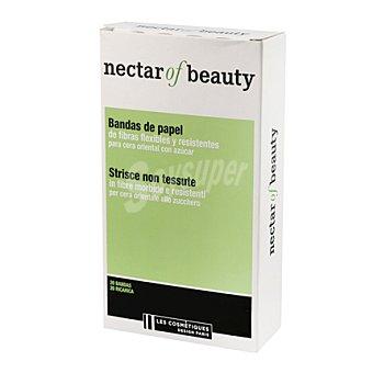 Les Cosmétiques Bandas de papel con fibras flexibles - Nectar of Beauty 20 ud