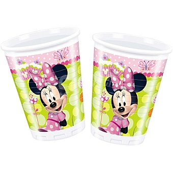 Minnie Vaso decorado paquete 8 unidades 20 cl