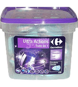 Carrefour Lavavajillas ultra actions Pastillas 26 ud