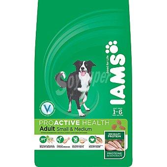 IAMS PROACTIVE NUTRITION ADULT alimento completo para perros adultos de razas pequeñas y medianas bolsa 3 kg