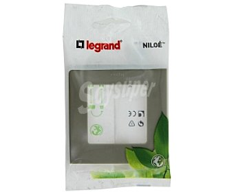 LEGRAND Placa 1 elemento Niloe, gris 1 Unidad
