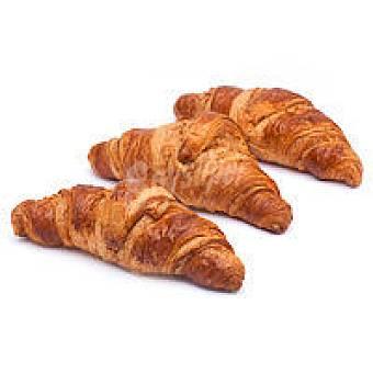Croissant de mantequilla recto Bandeja 4 unid