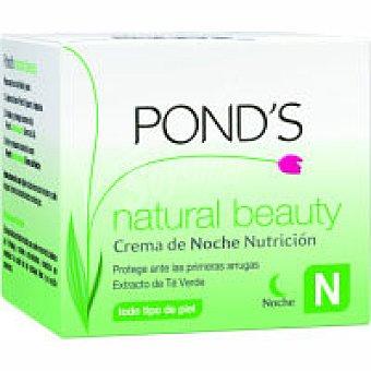 Pond's Crema de noche Nutrición. Natural Beauty Tarro 50 ml