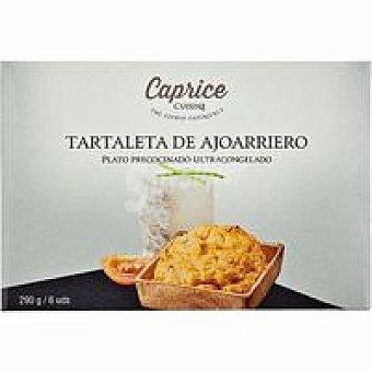 Caprice des Dieux Tartaleta de bacalao al ajoarriero caja 290 g
