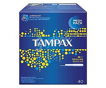 Tampax Tampón Regular 40 unidades