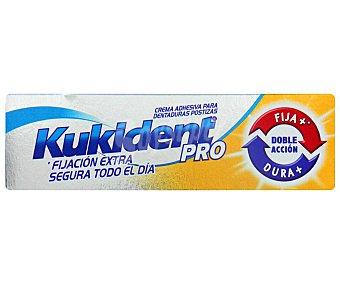KUKIDENT DOBLE ACCIÓN Crema adhesiva para prótesis dental, de doble acción KUKiDENT Pro Doble acción 40 g. 40 g