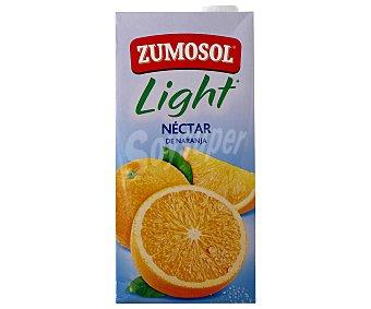 Zumosol Nectar de naranja Ligero sin azúcar Brik 2 litros