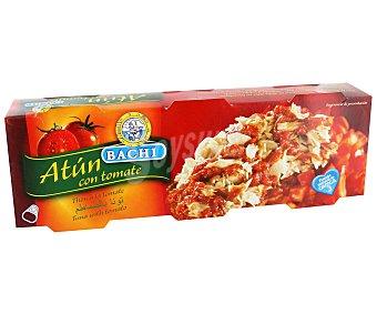 BACHI Atún con Tomate Pack 3 Unidades de 52 Gramos