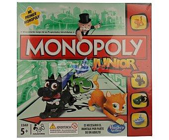 Monopoly Juego de mesa de estrategia Monopoly Junior, de 2 a 4 jugadores 1 unidad