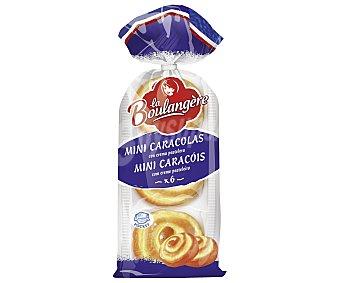La Boulangere Mini caracolas con crema pastelera 300 g