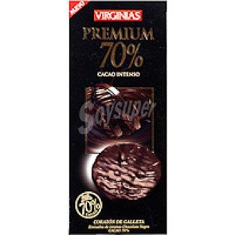 Virginias Galleta premium 70% cacao Caja 120 g