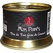 Bloc de foie gras de pato lata 130 g lata 130 g Mas pares