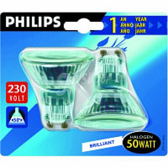 Philips Halo Gu10 Twisline 50W 2uds