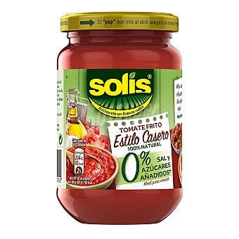 Solís Tomate frito casero 0% sal y azucares  Tarro de 350 g