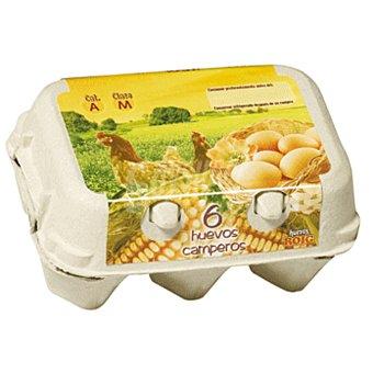 Roig Huevos frescos categoria A clase M de gallinas camperas Estuche 6 uds