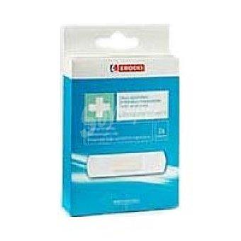 Eroski Tiritas adhesivas trans. plastico+desinf. Pack 24 unid