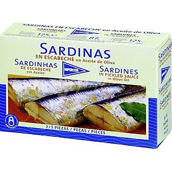 Hipercor Sardinas en escabeche en aceite de oliva 3-5 piezas Lata 87 g neto escurrido
