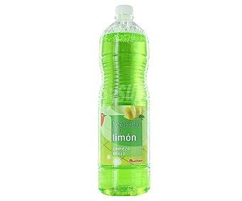Auchan Fregasuelos con fragancia frescor limón 1,5 litros