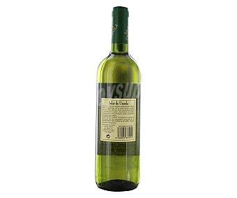 SOLAR DE UNZOLA Vino blanco de Extremadura Botella de 75 centilitros