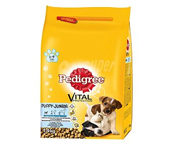 Pedigree Vital Protection Pienso para perros Junior  Saco 1.5 kg